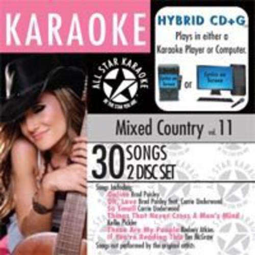 Karaoke: Mixed Country, Vol. 11
