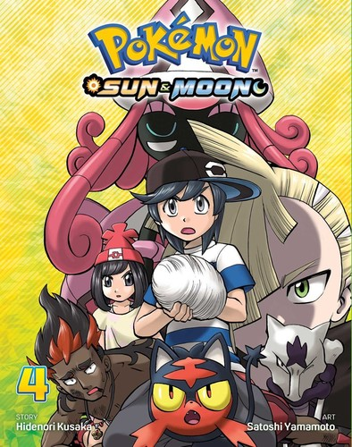 - Pokemon: Sun & Moon, Vol. 4