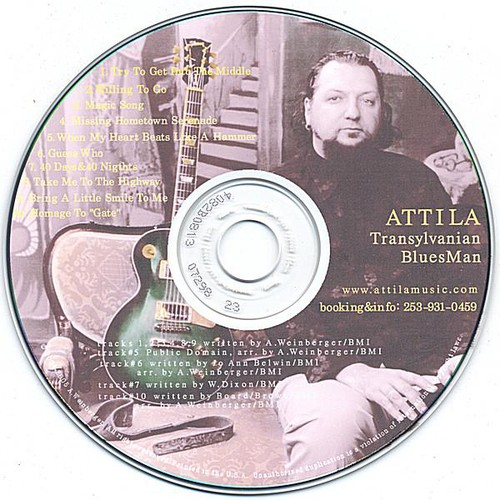 Transylvanian Blues Man