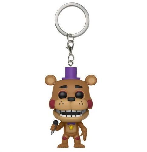- FUNKO POP! KEYCHAIN: Five Nights at Freddy's Pizza Simulator - Rockstar Freddy
