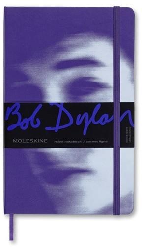 - Moleskine Limited Edition Notebook Bob Dylan, Large, Ruled, Violet, Hard Cover (5 x 8.25)