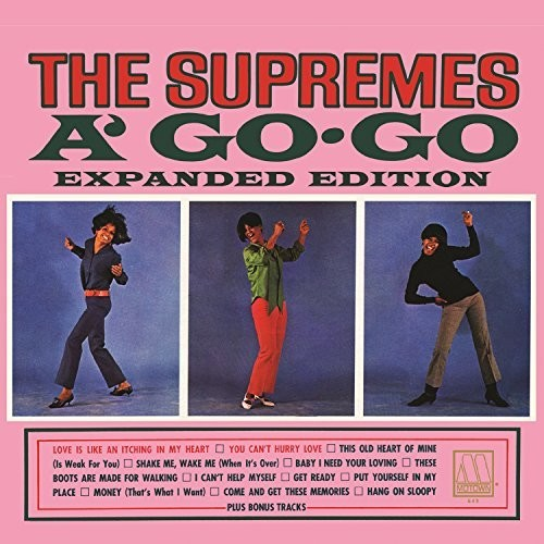 The Supremes A Go-Go (Expanded Edition)