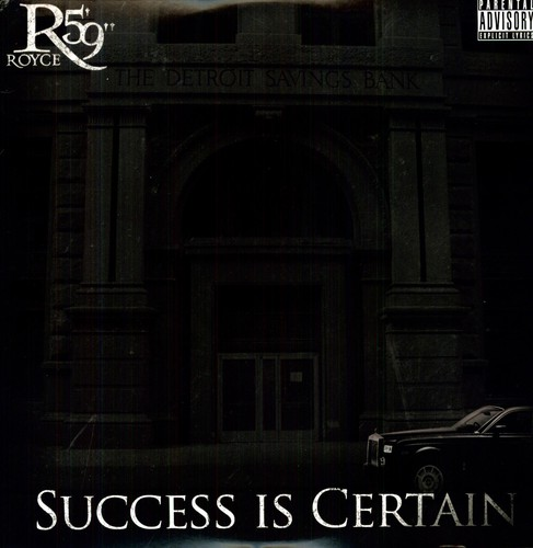 "Royce Da 5'9"" - Success Is Certain [LP]"