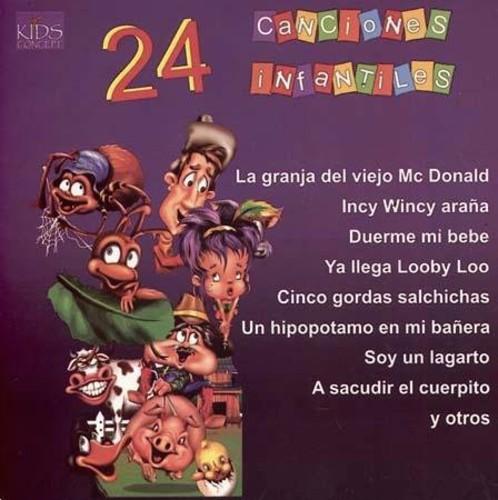 24 Canciones Infantiles /  Various [Import]