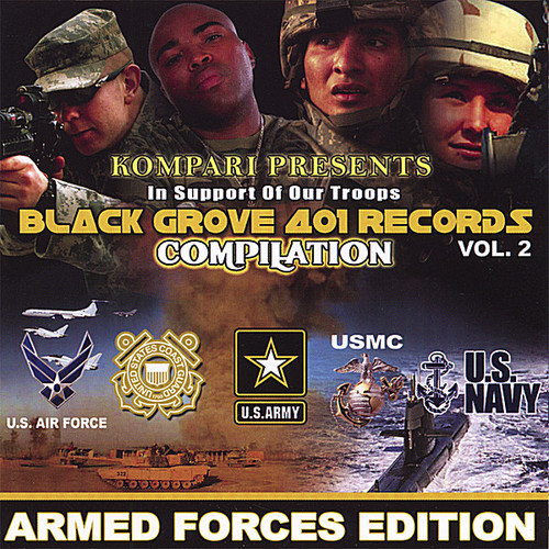 Black Grove Compilation, Vol. 2 - In Support Of Our Troops