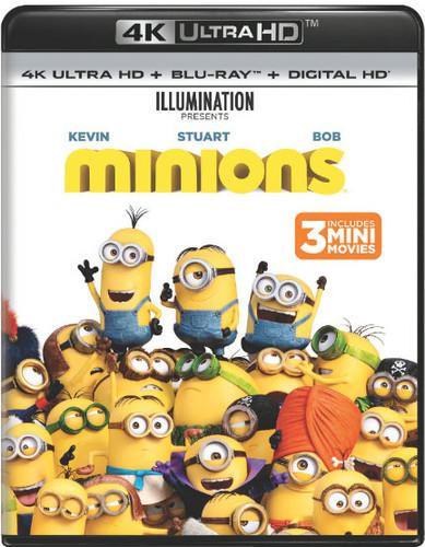 Minions [UltraViolet] [Blu-ray] [2 Discs]