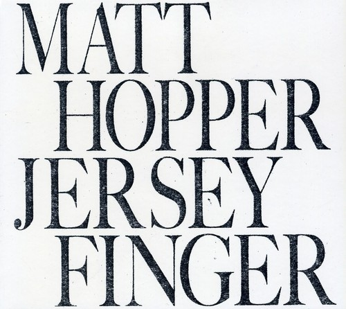Matt Hopper - Jersey Finger