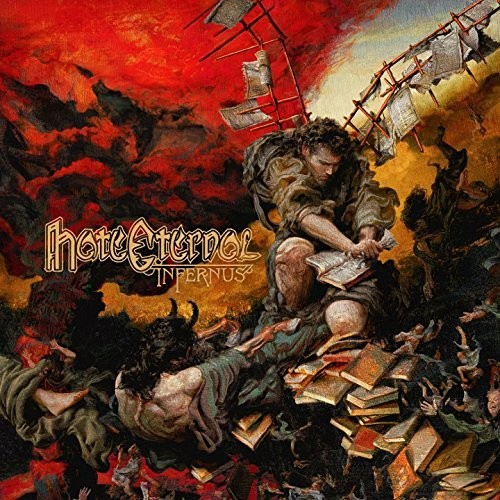 Hate Eternal - Infernus [Indie Exclusive Translucent Red Vinyl]
