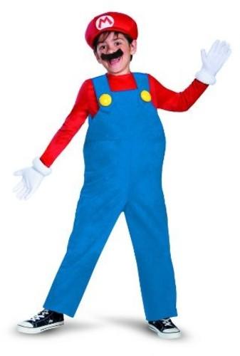 Super Mario - Nintendo: Super Mario: Mario (Size Child Med, 7-8)