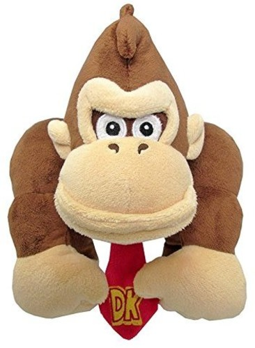 "- Little Buddy Super Mario Bros. Donkey Kong 10"" Plush"