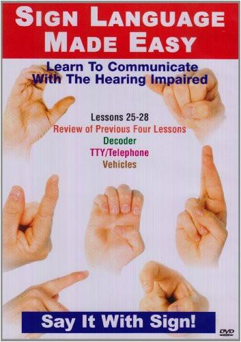 Sign Language Series 25-28