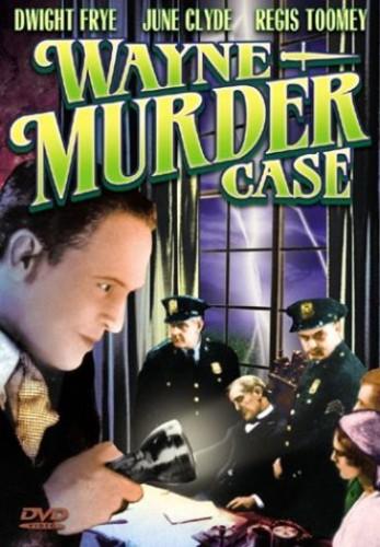 The Wayne Murder Case