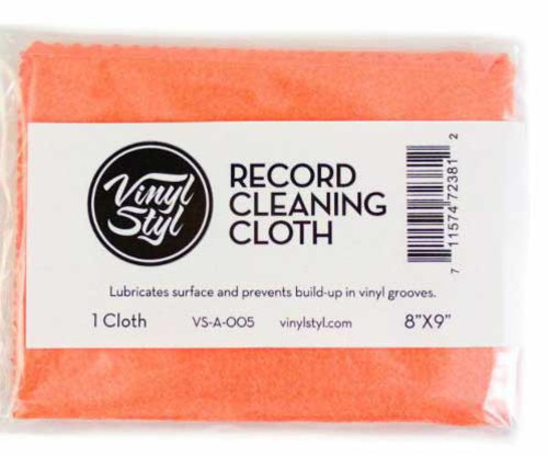 - Vinyl StylT Lubricated Cleaning Cloth (Single)