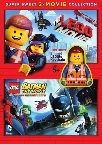 The Lego Movie /  Lego Batman: The Movie: DC Super Heroes Unite