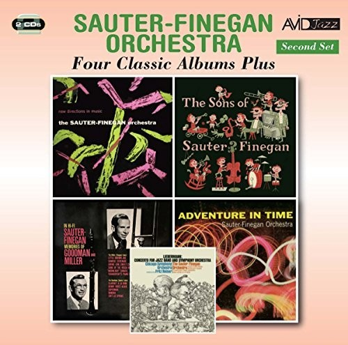New Directions In Music /  Songs Of Sauter Finegan
