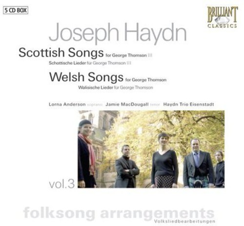 Folksongs Arrangements 3: Scottish & Welsh Songs