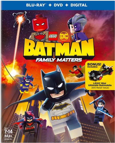 - Lego Dc: Batman - Family Matters (2pc) (W/Dvd)