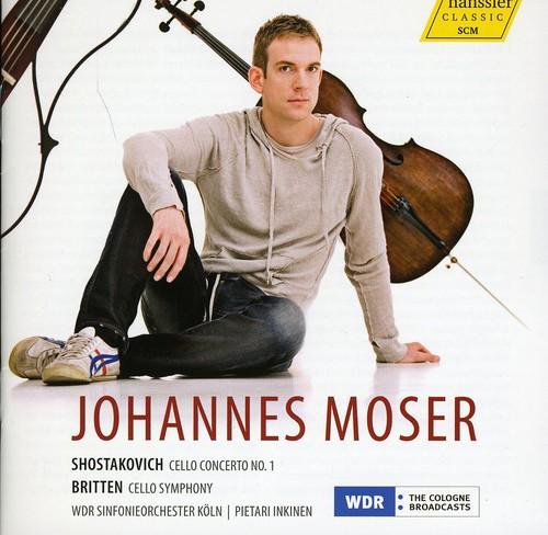Johannes Moser - Cello Concertos