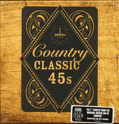 Classic 45s Classic Country / Various Box Uk - Classic 45's: Classic Country / Various