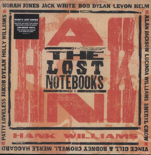 Lost Notebooks Of Hank Williams / Various W/Cd - The Lost Notebooks of Hank Williams [Vinyl]