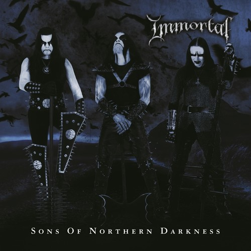 Immortal - Sons Of Northern Darkness [Black & Blue Swirl LP]