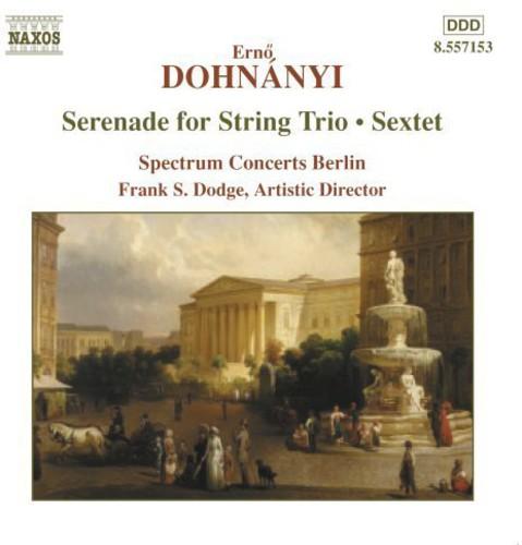 Spectrum Concerts Berlin - Serenade for String Trio