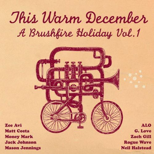 This Warm December, A Brushfire Holiday - This Warm December, A Brushfire Holiday Vol. 1 [ Red & Green Translucent LP]