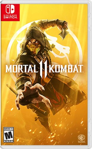 - Mortal Kombat 11 for Nintendo Switch
