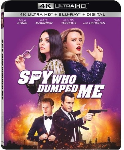 Spy Who Dumped Me [4K Ultra HD Blu-ray/Blu-ray]