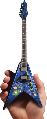 DAVE MUSTAINE MEGADETH RUST IN PEACE MINI GUITAR