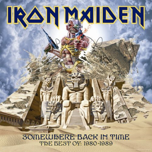 Iron Maiden - Somewhere Back In Time: Best Of: 1980-89