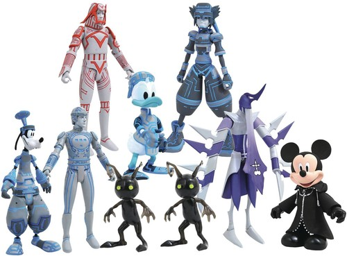 Diamond Select - Kingdom Hearts Select Series 3 Figure Asst