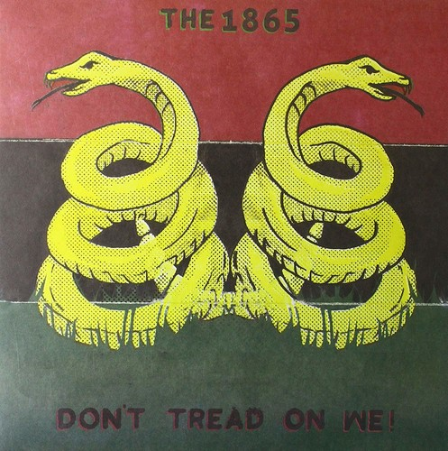 1865 - Don't Tread On We (Blk) [Colored Vinyl] (Red)