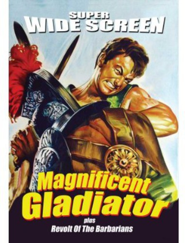 The Magnificent Gladiator /  Revolt of the Barbarians