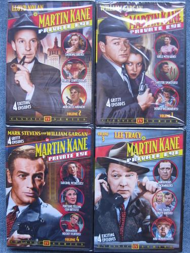 Martin Kane Private Eye 1-4