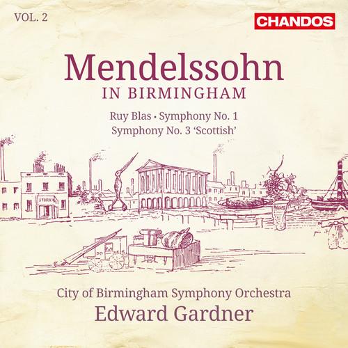 City Of Birmingham Symphony Orchestra - Mendlessohn In Birmingham 2 (Hybr)