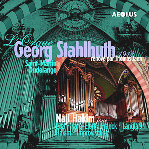 Naji Hakim at the 1912 Georg Stahlhuth Organ