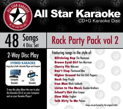 Karaoke: Rock Party Pack, Vol. 1