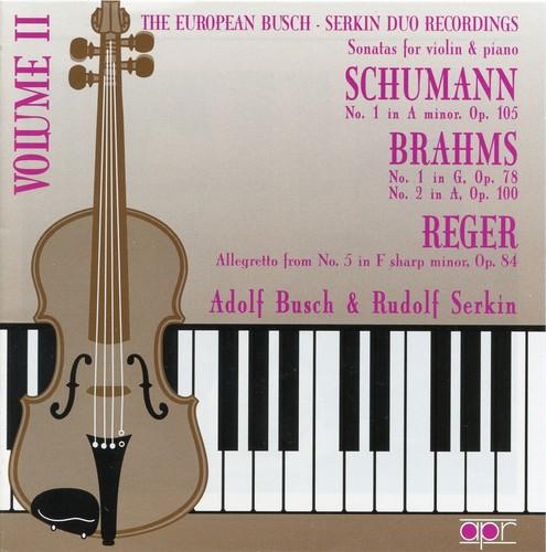 European Busch-Serkin Duo Recordings 2