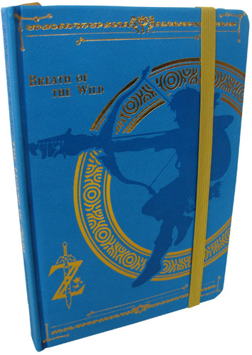 Zelda Botw Blue Premium Journal - Zelda BOTW Blue Premium Journal
