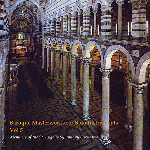 Baroque Masterworks for Solo Instrument 5