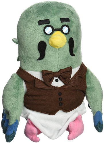 "- Little Buddy Animal Crossing Brewster 7"" Plush"