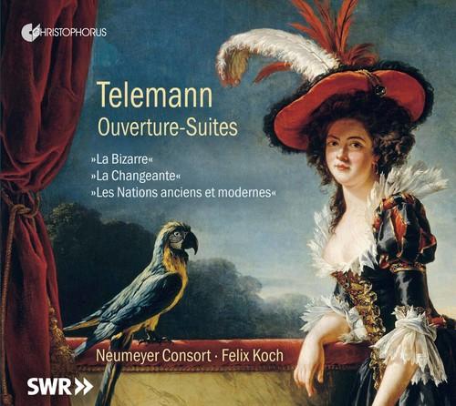 Neumeyer Consort - Telemann: Ouverture-Suites