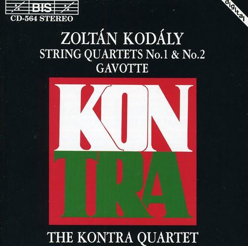 String Quartets 1 & 2 /  Gavotte