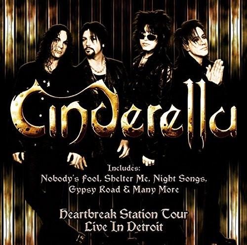 Cinderella - Live In Detroit (Uk)