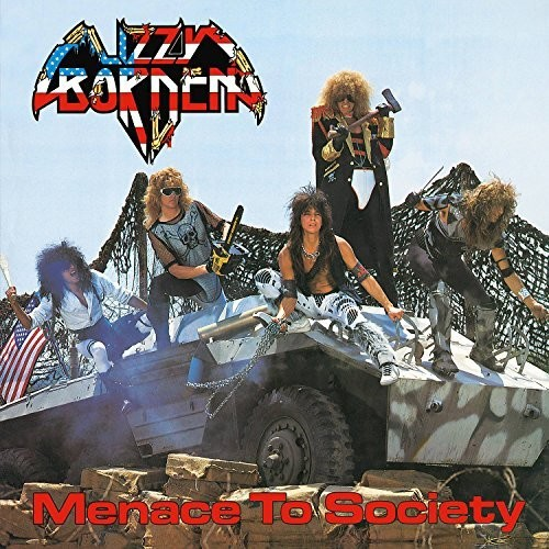 Lizzy Borden - Menace To Society [Import LP]