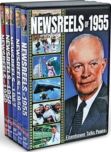 Newsreels of 1955-1959 (5-DVD)