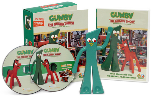 The Gumby Show: The Complete '50s Series (With Bendable Gumby Toy)