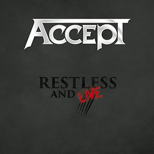 Accept - Restless And Live [2CD+DVD]