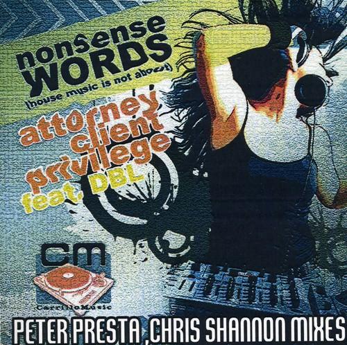 Nonsense Words-Peter Presta & Chris Shannon Mixe
